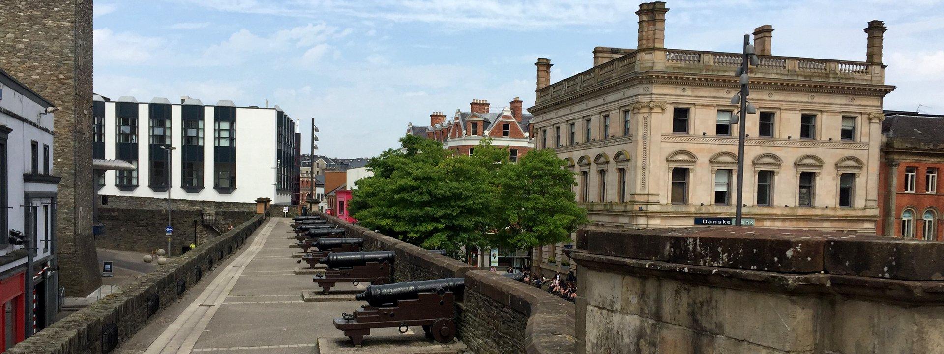 Derry Walls Tour