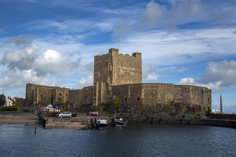 Carrickfergus Castle Northern Ireland