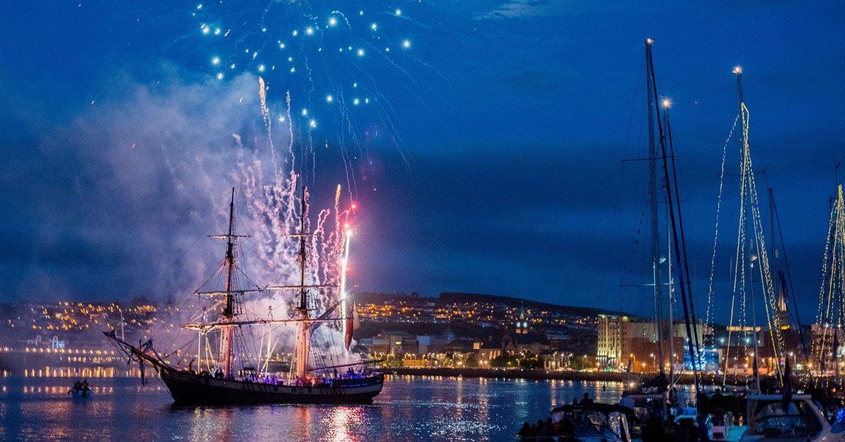 Foyle Maritime Festival - Clipper Fireworks