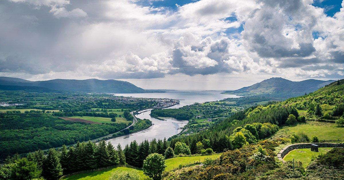 View of Carlingford Lough