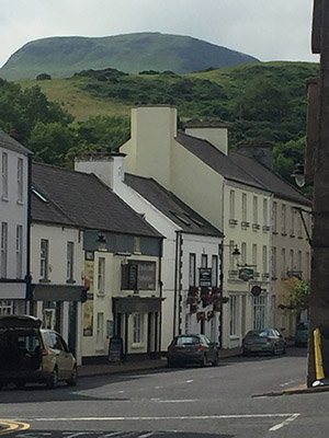 Cushendun with Lurigethan Mountain