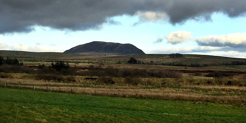 Slemish from a distance